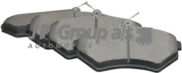 1163601910 Колодки тормозные дисковые передние / SEAT,VW 1.6-2.0 88~
