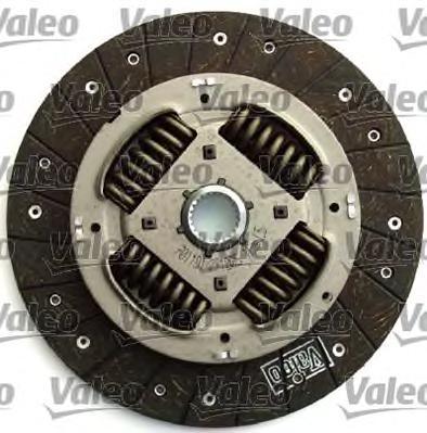 835006 Комплект сцепления с одномассовым маховиком без выжимного FORD: GALAXY 95-, SEAT: ALHAMBRA 96-, VW: SHARAN 95-