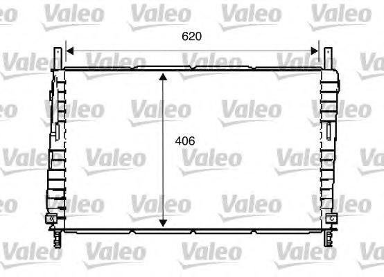 734286 Радиатор системы охлаждения FORD: MONDEO III (B5Y) 1.8 16V/1.8 SCi/2.0 16V 00-07, MONDEO III седан (B4Y) 1.8 16V/1.8 SCi/