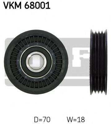 VKM68001 Ролик ремня приводного SUBARU LEGACY/IMPREZA/FORESTER 1.5-2.5