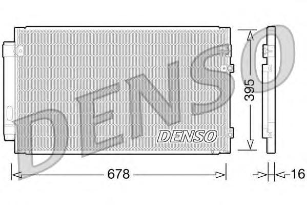 DCN51012 Конденсер Lexus GS