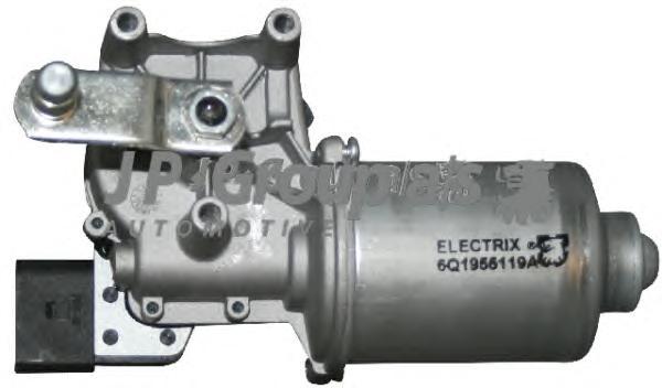 1198201600 Мотор стеклоочистителя лобового стекла / SKODA Fabia,VW Polo 01/00~
