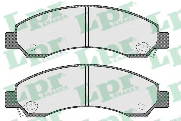 05P1568 Колодки тормозные GREAT WALL DEER/SAFE/SAFE SUV/CHEVROLET BLAZER 94- передние