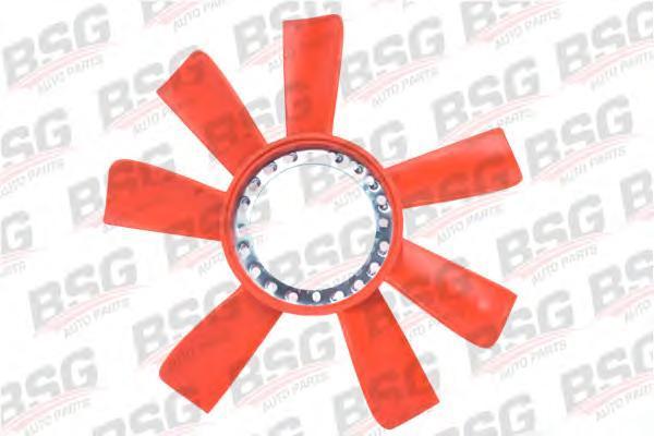 BSG30515005 Крыльчатка вентилятора радиатора-черная / FORD 1.6-2.0 OHC 82~