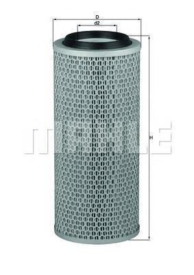 LX200 Фильтр воздушный MERCEDES-BENZ: MB-TRAC 73-91, VW: ILTIS 79-88, LT 28 I автобус 75-83, LT 28-35 I c бортовой платформой 75