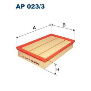 AP0233 Фильтр воздушный FORD TRANSIT 2.0D-2.4D 00-
