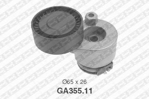 GA35511 Натяжитель ремня приводного RENAULT LOGAN/MEGANE 1.5DCi/1.6 16v без конд