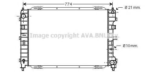 FD2375 Радиатор системы охлаждения FORD: MAVERICK 2.0 16V 01 -   MAZDA: TRIBUTE (EP) 2.0/2.0 4WD 00 -