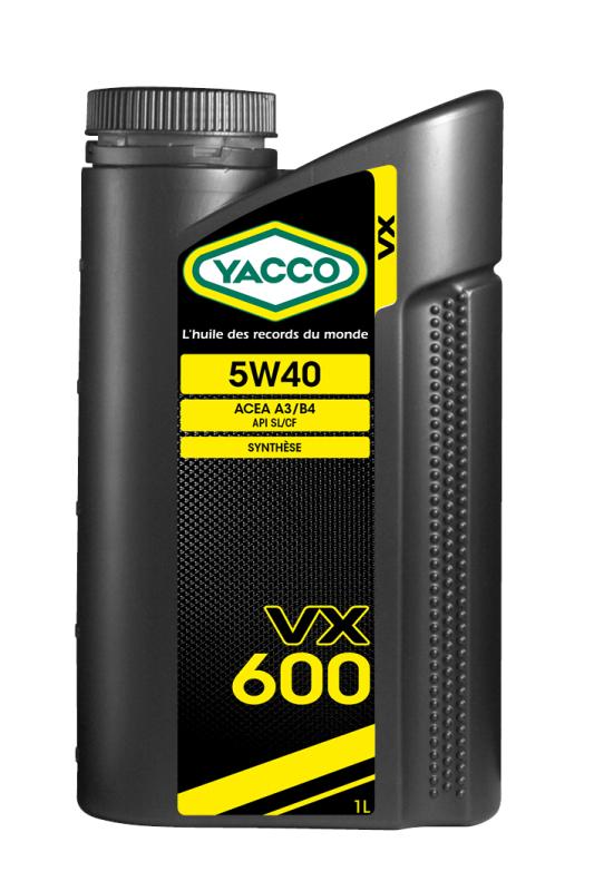 302925 Моторное масло VX 600 5W40