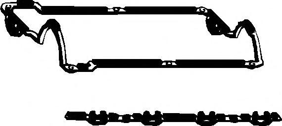 567388 Прокладка клапанной крышки AUDI/VW 1.8/2.0 16V 86-99 компл.