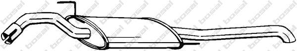279461 Глушитель VW PASSAT 1.6-2.0/1.9TD 93-96
