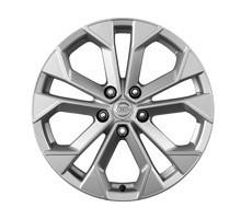KE4091K300 Диск колеса литой R18 F15 серебр