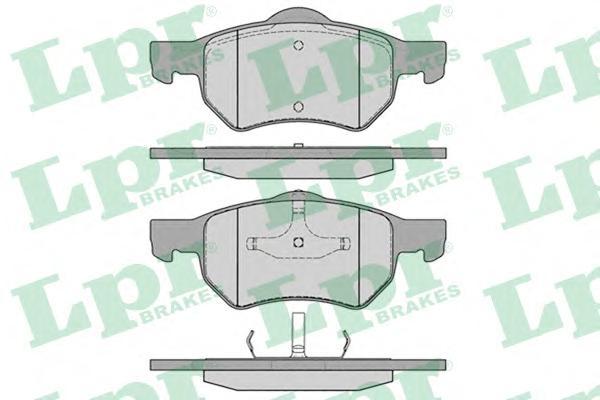 05P841 Колодки тормозные дисковые передн CHRYSLER: VOYAGER III 00-