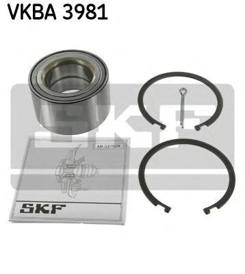 VKBA3981 Подшипник ступ.NISSAN ALMERA/MAXIMA/PRIMERA/X-TRAIL 00- пер.