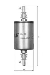 KL83 Фильтр топливный OPEL/GM