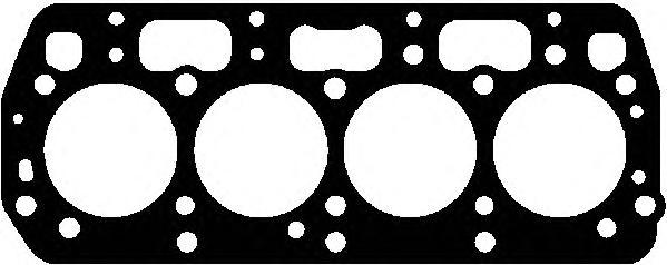 10025500 Прокладка ГБЦ SKODA FABIA/FELICIA 1.3/1.4 94-03