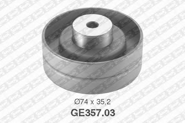 GE35703 Деталь GE357.03_pолик обводной pемня ГPМ