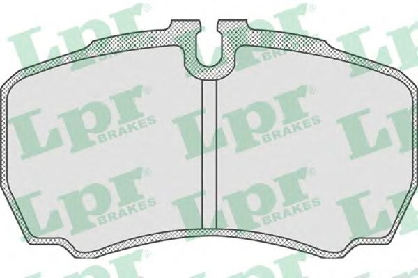 05P830 Колодки тормозные FORD TRANSIT 06-/IVECO DAILY 01- задние
