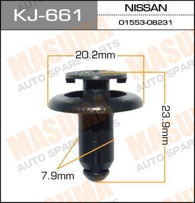 KJ661 Клипса NISSAN