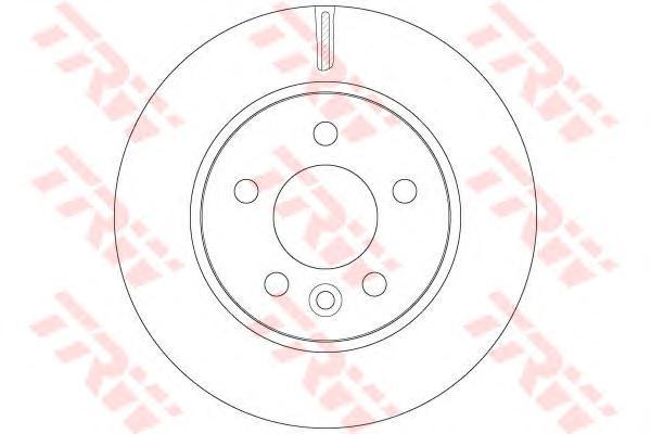 DF6482 Диск тормозной VW AMAROK передний вент.D=303мм