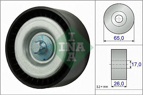 532077710 Ролик ремня приводного MB M113/M156 01-