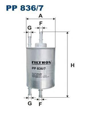pp8367 Фильтр топливный
