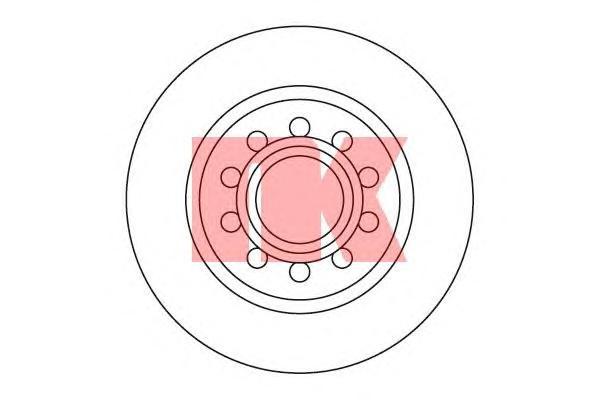 204781 Диск тормозной задний / AUDI 100,A6,S4,S6,V8 Quattro (20.0-269) 88~
