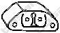 255973 Подвеска глушителя FIAT