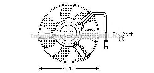ai7504 Вентилятор, охлаждение двигателя