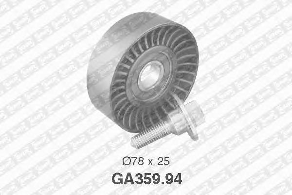 GA35994 pолик обводной pемня генеpатоpа! Peugeo