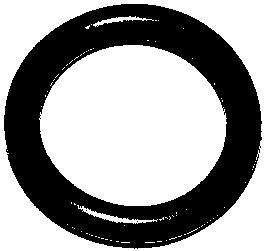 476820 Прокладка клапанной крышки OPEL ASTRA/CORSA/VECTRA 1.4-2.5 полукольцо