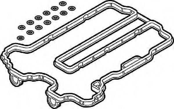 392480 Прокладка клапанной крышки Opel Corsa B 1.0 12V 97 к-кт