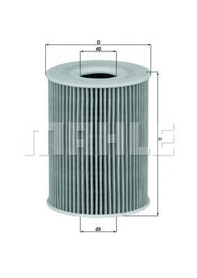 OX254D1 Фильтр масляный MB 211/164/221 4.2D