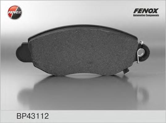 BP43112 Колодки тормозные FORD TRANSIT 00-06 передние с индикат.износа