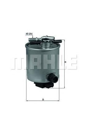 KL44014 Фильтр топливный NISSAN X-TRAIL/QASHQAI 2.0D 07-