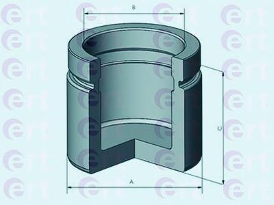 150819C Поршень тормозного суппорта FORD: GALAXY 2.0-2.8/1.9D 97-06/ SEAT: ALHAMBRA 1.8-2.0/2.0D 96-10/ VOLKSWAGEN: SHARAN 1.8-2