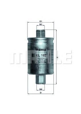 KL182 Фильтр топливный LAND ROVER FREELANDER