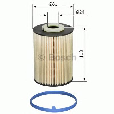 F026402128 Фильтр топливный VOLVO C30/V70 2.4 D/FORD MONDEO 2.0D 07-