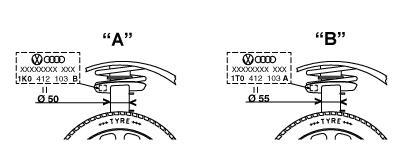 G16496 Амортизатор AUDI A3/GOLF V/TOURAN/SKODA OCTAVIA 03- пер.газ.(D=50mm)