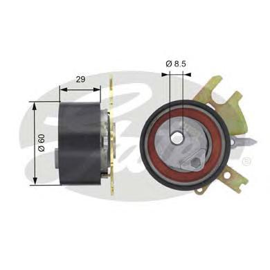 T43089 Ролик ремня ГРМ FORD FOCUS II 2.0 D