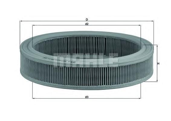 LX202 Фильтр воздушный FORD: CAPRI 72-73, CAPRI II 74-77, CAPRI III 78-87, CORTINA 70-72, CORTINA Estate 70-72, CORTINA купе 70-