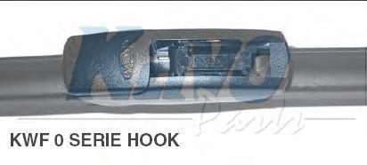 KWF017 Щётка с/о 425мм FLATE BLADE Hook