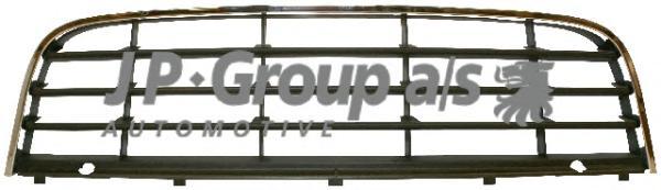 1184551200 Решетка переднего бампера, центральная / VW Golf V, Jetta 06~10