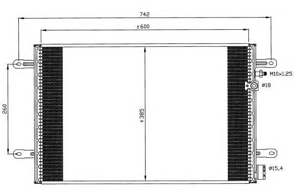 35605 Конденсер VAG A6 04-