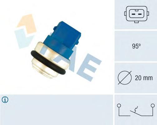 35635 термовыключатель, сигнальная лампа охлаждающей жидкости