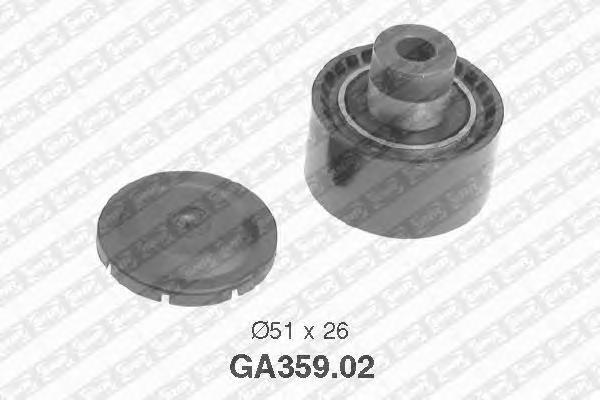 GA35902 Ролик промежуточный поликлинового ремня PEUGEOT: 307, Partner, Ranch, 206, CITROEN: Xsara Picasso, C3, Xsara, Berlingo -