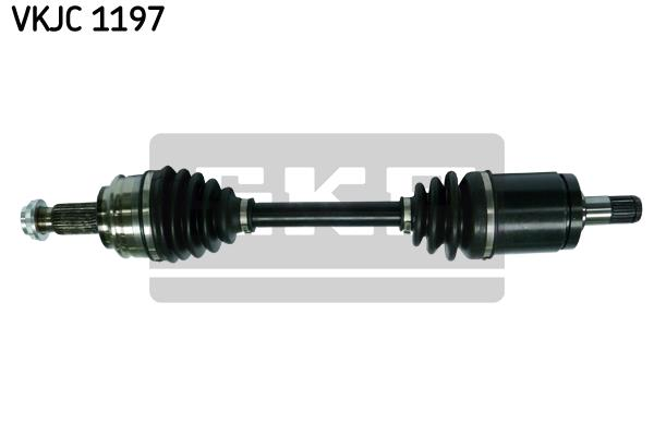 VKJC1197 Привод в сборе BMW X3 E83 2.0D-3.0D 04-10 пер. лев.