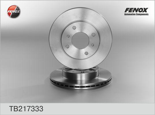 TB217333 Диск тормозной NISSAN ALMERA CLASSIC/N16/PRIMERA P10/P11 R14 передний вентилир.