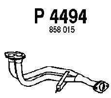P4494 Трубопровод выпускной OPEL ASTRA F 1.8 93-98