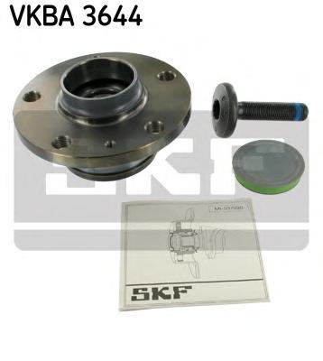 VKBA3644 Ступица с подшипником AUDI A3 II/Q3/VW GOLF V-VI/PASSAT VI-VII/TIGUAN 03- зад.